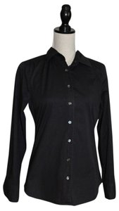 J.Crew Button Down Shirt Black Haberdashery