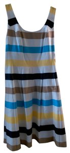 Nine West short dress Multi-striped on Tradesy