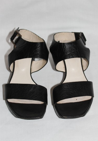 ALL BLACK Black Sandals Image 2