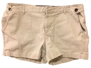 JOE'S Cuffed Shorts Tan