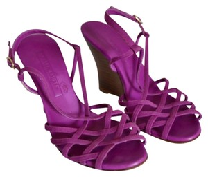 Ralph Lauren Collection Purple Wedges