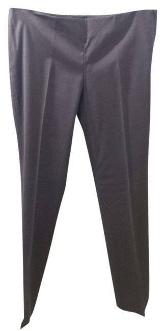 Tory Burch Straight Pants Dark Brown