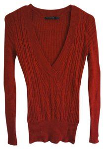 The Limited Cable Knit V-neck Sweater