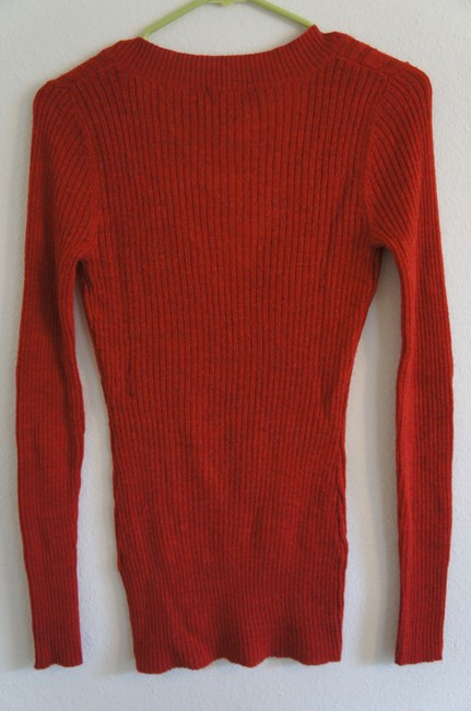 The Limited Cable Knit V-neck Holiday Christmas Sweater