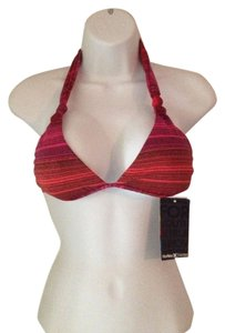 Hurley Hurley Swim Woman's Red Pink Bikini Top Size S Swimwear / Swimsuit