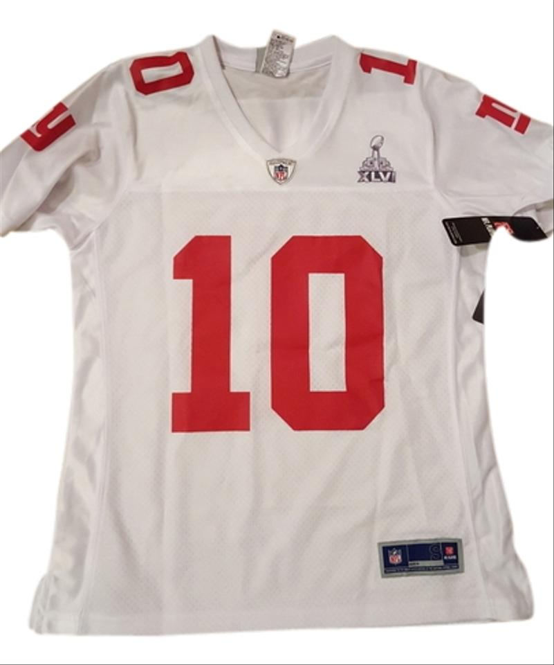 wholesale dealer 10c27 cee08 Nike White and Red Women's Nfl Pro Line Tee Shirt Size 6 (S)