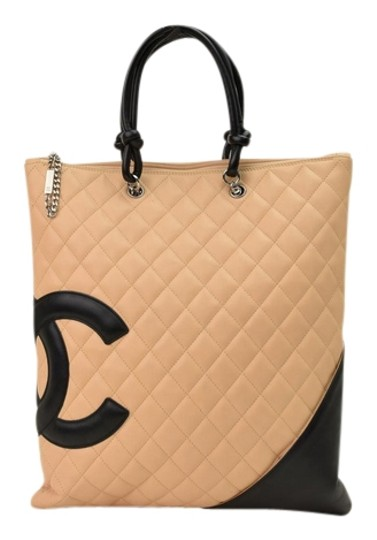 Preload https://img-static.tradesy.com/item/13994089/chanel-cambon-line-cc-logo-beige-quilted-leather-tote-0-1-540-540.jpg