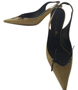 Bettye Muller Green Pumps