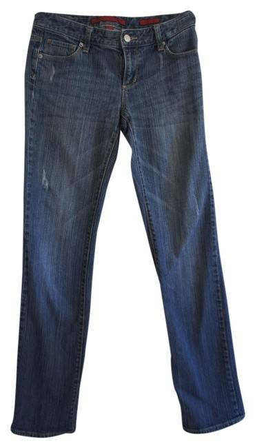 Banana Republic Limited Edition Straight Leg Jeans-Distressed