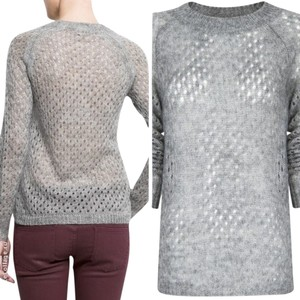 Mango Wool Sheer Sweater