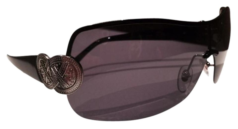 ef6a0b93dba Tommy Bahama NEW- Polarized Shield w Crystals Sailor s Knot hinges Image 0  ...