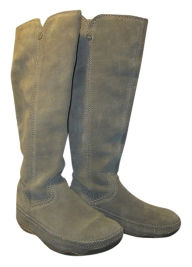 Fit Flop Grey Suede Boots