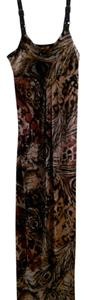 Brown/Black/Beigh Maxi Dress by Fresh of LA