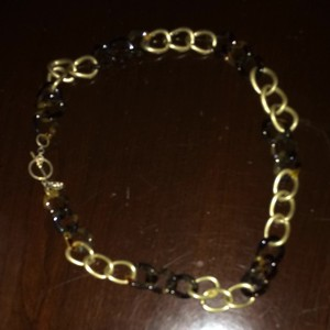 Danielle Stevens Great Fall Tortoiseshell And Goldtone Necklace