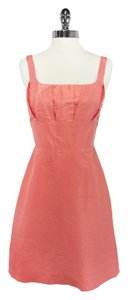 Ana Elyse short dress Salmon Color Silk on Tradesy