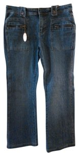 Lee Boot Cut Pants Blue