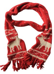 Abercrombie & Fitch Abercrombie & Fitch Red Winter Scarf