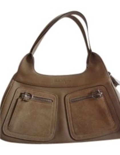 Preload https://item3.tradesy.com/images/salvatore-ferragamo-tan-leather-w-shoulder-bag-139987-0-0.jpg?width=440&height=440