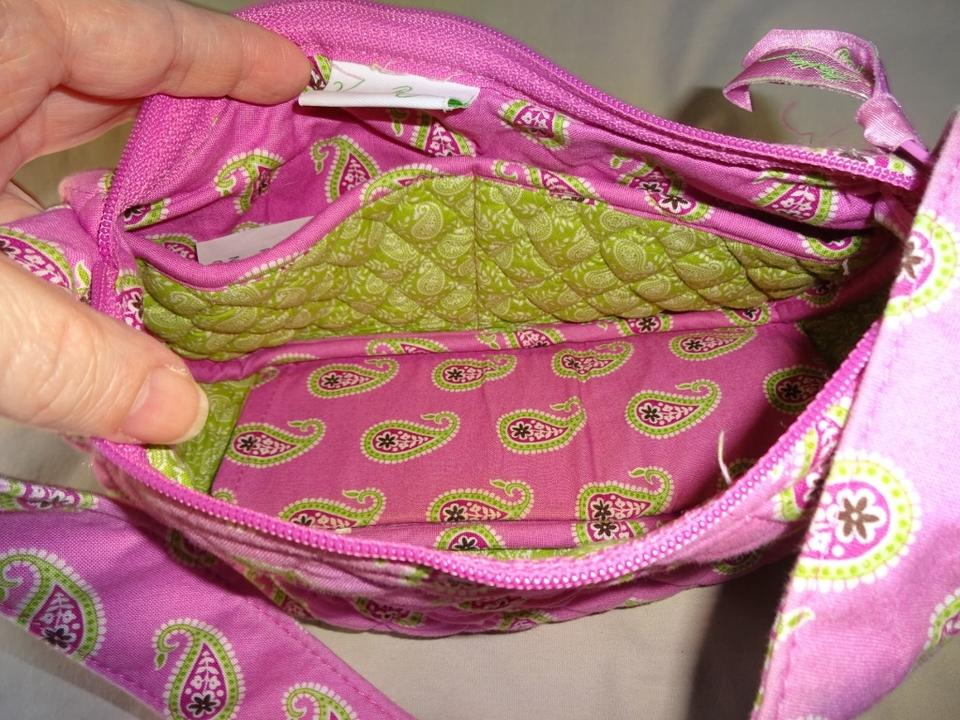 Vera Bradley Bermuda Quilted Libby Small Pink Cotton Hobo Bag - Tradesy 49c67bc141