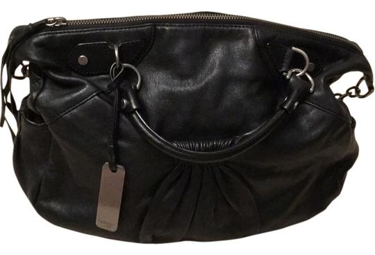 Preload https://img-static.tradesy.com/item/13999750/botkier-gathered-convertible-black-leather-satchel-0-1-540-540.jpg