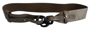 BCBGMAXAZRIA Wide Waist Dark Belt Size Medium