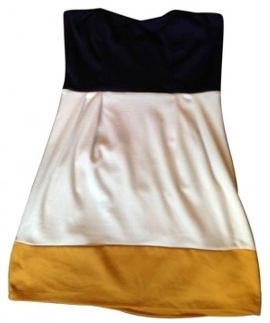 Preload https://item5.tradesy.com/images/forever-21-navy-white-gold-color-block-strapless-mini-short-casual-dress-size-8-m-139999-0-0.jpg?width=400&height=650