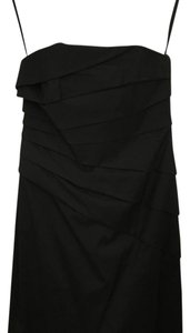Phoebe Couture short dress black on Tradesy