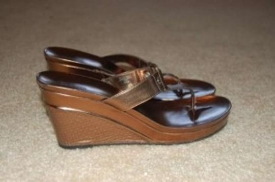 Style & Co Style&co Sandal Bronze Wedges