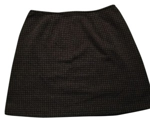 Express Skirt Grey, plaid