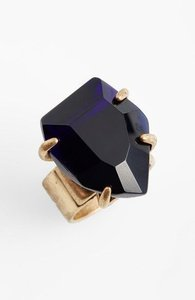 Nordstrom Nordstrom Missing Piece Class Solitare Ring Green Navy