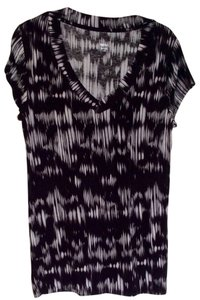 Mossimo Supply Co. Top Black and white