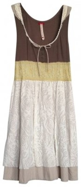 Preload https://item4.tradesy.com/images/free-people-taupe-yellow-cream-layered-above-knee-short-casual-dress-size-8-m-140023-0-0.jpg?width=400&height=650