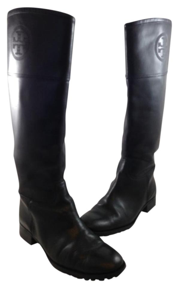 e7a7a078fc3d Tory Burch Black Leather Boots Booties. Size  US 8 Regular (M ...