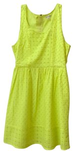American Eagle Outfitters short dress Citrine Yellow on Tradesy
