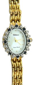 Lucien Piccard Ladies Sapphire & Mother of Pearl Lucien Piccard Dufonte Watch 7.5