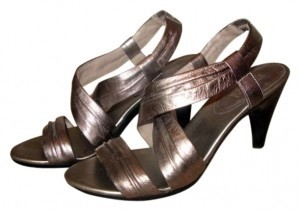 Kenneth Cole Reaction Silver Sandals