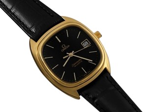 Omega 1980 Omega Seamaster Classic Vintage Mens Quartz Watch, Date - Stainless Steel & 18K Gold Plated