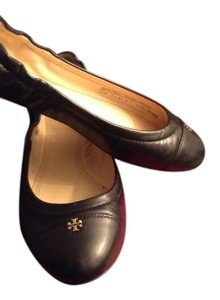 Tory Burch Black/gold Flats