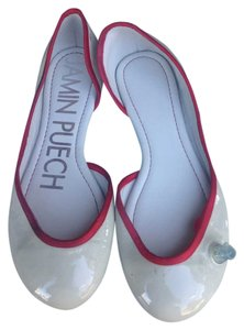 Jamin Puech CREAM / RED Flats