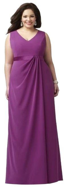 Item - Persian Plum 9000 Long Night Out Dress Size 22 (Plus 2x)