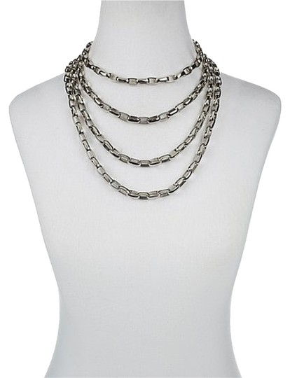 Other Steel Multi Chain Layering Necklace