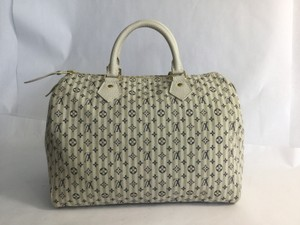 Louis Vuitton Speedy Satchel in Bleu