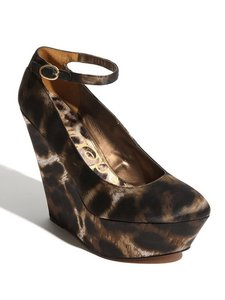 Sam Edelman Leopard Animal Print Leopard print Wedges