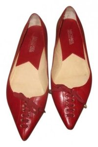 MICHAEL Michael Kors Red Flats