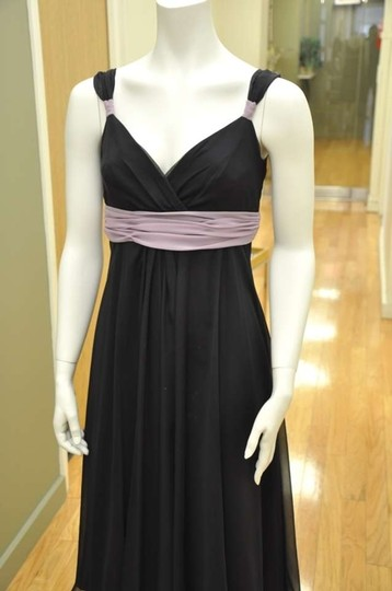 Preload https://item1.tradesy.com/images/wtoo-black-with-lavender-trim-chiffon-84643-feminine-bridesmaidmob-dress-size-4-s-140085-0-0.jpg?width=440&height=440