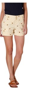 Anthropologie Dress Shorts Light yellow