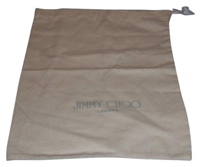 Item - Ivory Flannel with Gray Logo Drawstring Bag Sleeper/ Dust Bag Or Protective Cover Cotton Size 11 X 14 Length. Drawstring Bag.