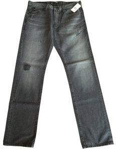 Big Star Denim Pants Straight Leg Jeans-Medium Wash