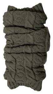 Mixit Beige Tone Twist Knit Leg Warmers One Size Fits All By MixIt