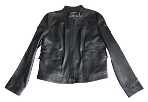 Ralph Lauren BLACK Leather Jacket